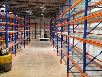 Warehouse Capacity Increase