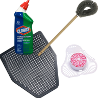 Rest Rooms - Cleaning & Odor Control