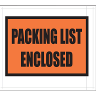 Aactus Packing List Envelopes