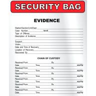 Bags - Tamper Evident