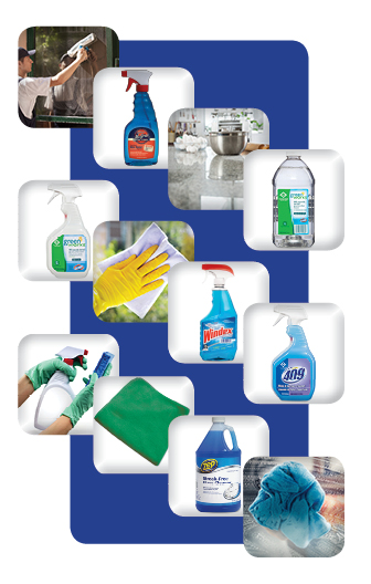 Glass & Multi-Surface Cleaners